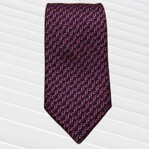 Hermès Paris 100% silk tie